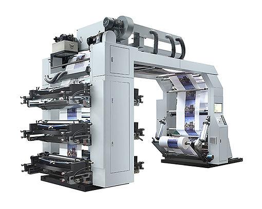 BYT61000 High Speed Belt System Flexo Printing Machine