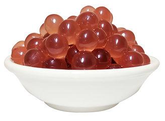 Raspberry coating juice