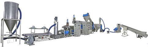 Máquina Para Reciclaje de Residuos Plásticos PE