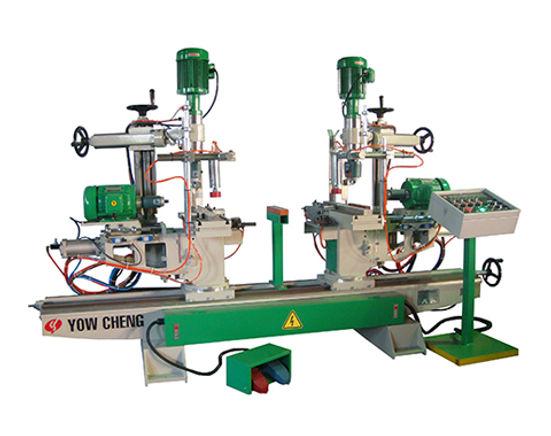 SD-2T2A(H_V) 自動退料雙端鑽孔機 ( 氣壓式 )