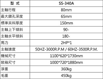 自動退送料單頭鑽孔專用機 (氣壓式)