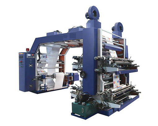 GYT61000 High Speed Gear System Flexo Printing Machine