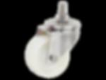 313a不銹鋼白色尼龍活動輪(牙式)