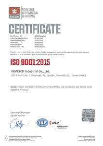 2020 - ISO Certificado of Inmetch