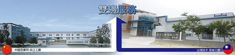 【銳禾工業有限公司協助台商回流,提供中國與台灣雙邊服務】