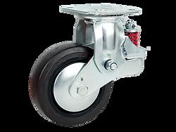 510a咖啡色橡膠活動輪