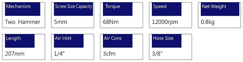 Air Screwdriver - PSD-45W