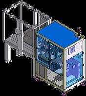 KSEU 紙卡熱壓機之貼標秤重封箱系統