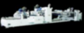 Down-Folding Type Folder Gluer