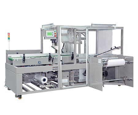 Automatic Sleeve Wrapper – Continuous motion, Servo Type
