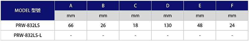 氣動棘輪扳手 PRW-832LS、PRW-832LS-L
