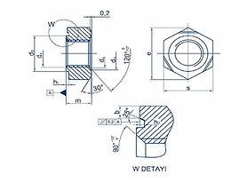 焊接螺帽 Welding nuts