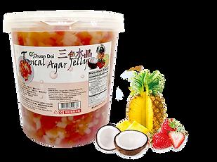 Tropical Agar Jelly