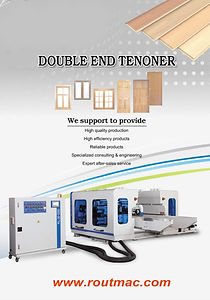 DOUBLE END TENONERS
