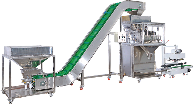 Electronic Weighing & Packaging Line