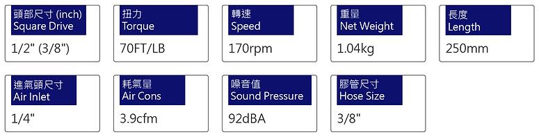 氣動棘輪扳手 PRW-186