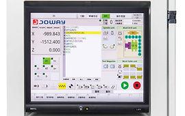 独立电控箱操作接口,简捷的画面搭配副操作面板,操作方便快捷。