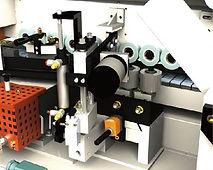 Pressure unit and edge cut device