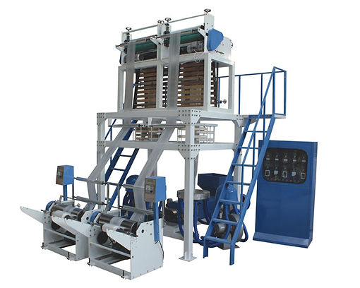 SJST Double Head Film Blowing Machine