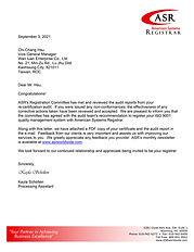 Wan Iuan Enterprise ISO 9001 Re-Cert Letter Sept 2021.jpg