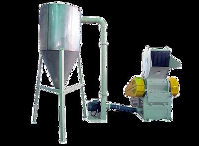 Crusher and Storage Recycling Making Machine