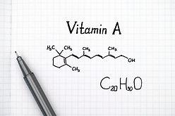 ビタミンA化学構造