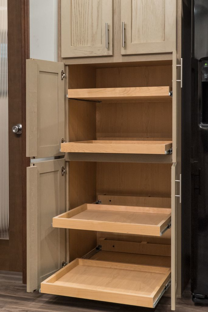 Pantry w/ pull out shelves