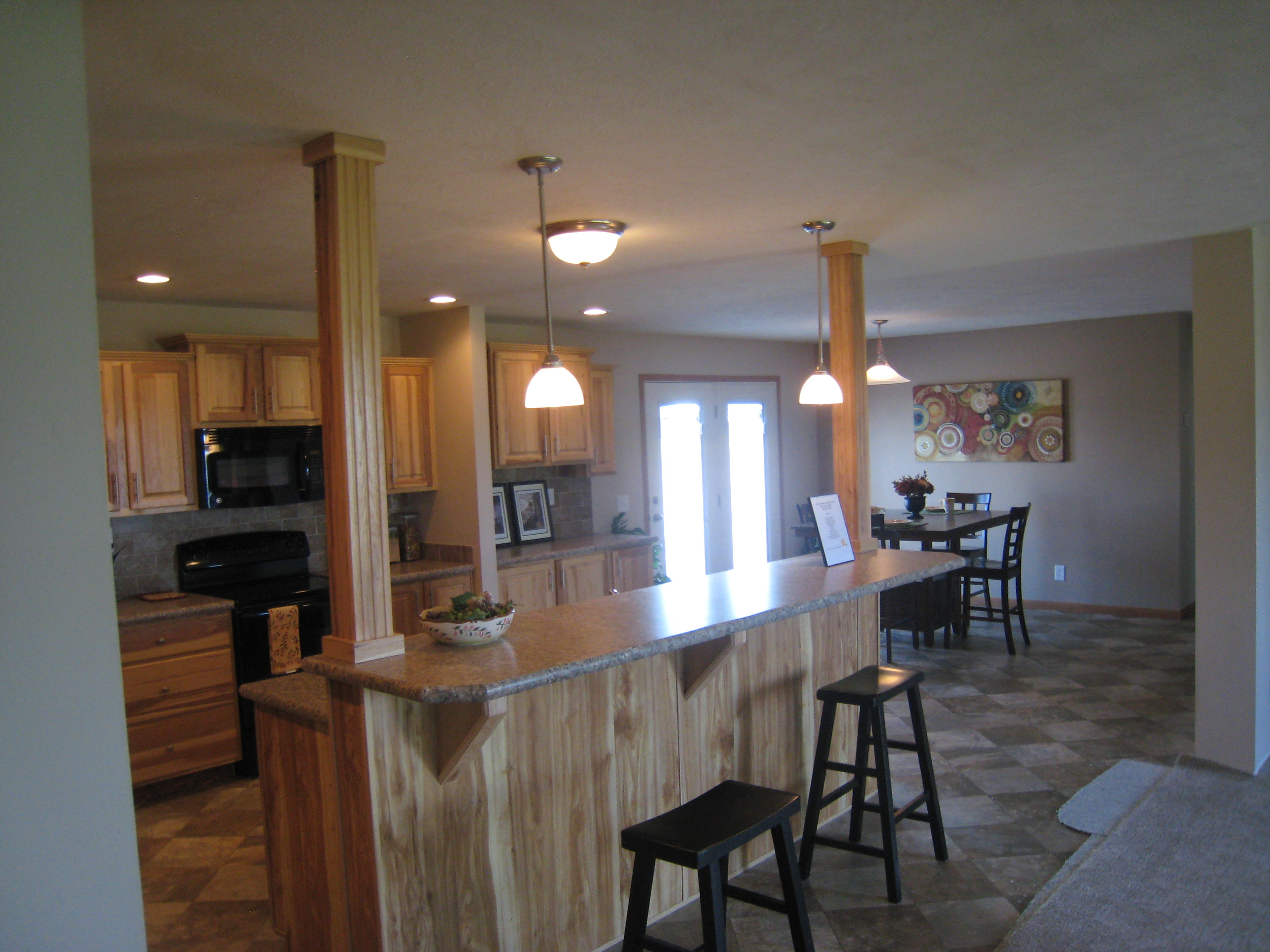 Hickory Cabinets/In Swing Patio