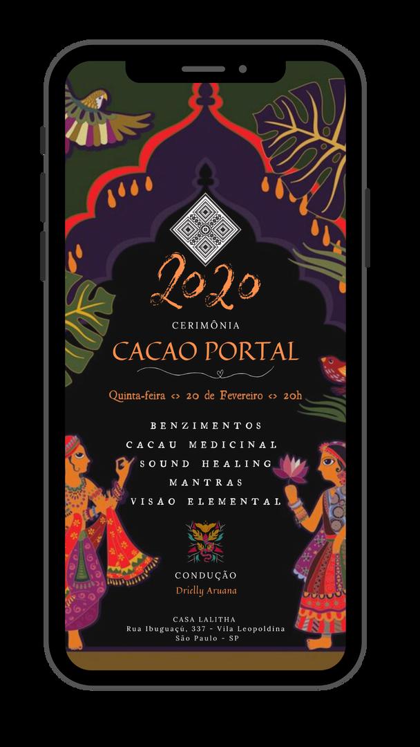 Cerimônia Cacao Portal