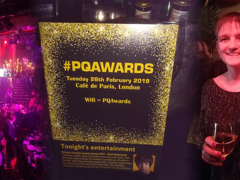 PQ Awards - Our two worthy nominees