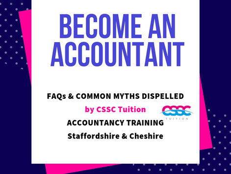 Accountancy Training – Common Myths Dispelled