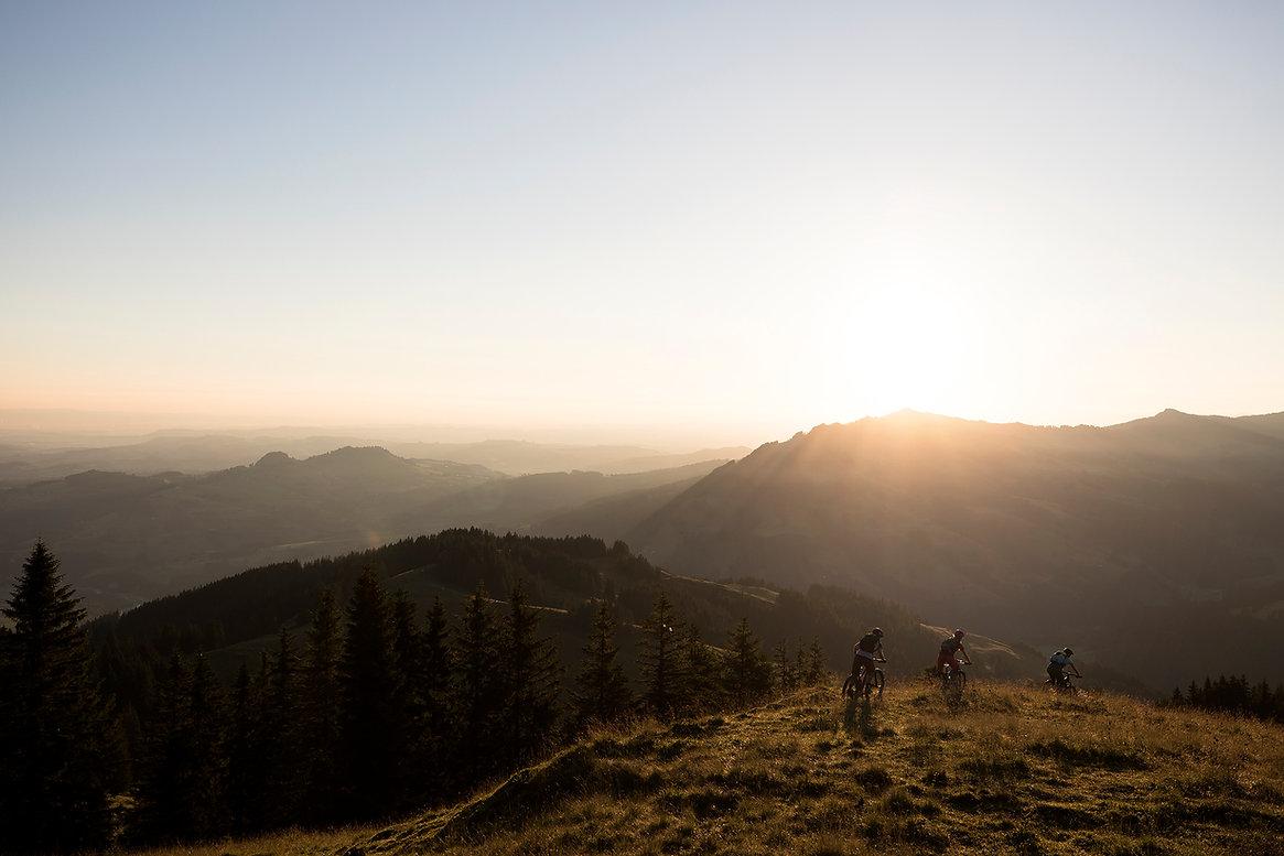 Bike Region Voralpen Morgenstimmung Bike