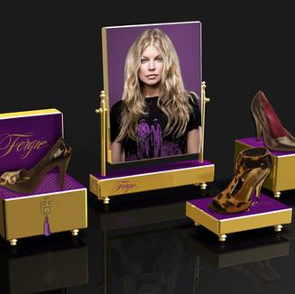 Fergie POP Shoe Display