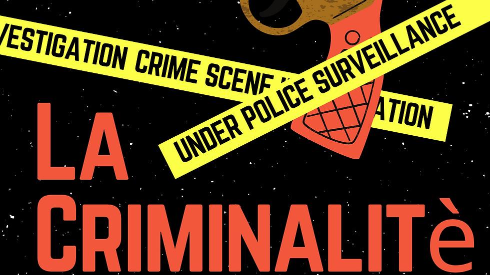 La Criminalitè : Vartika Modi