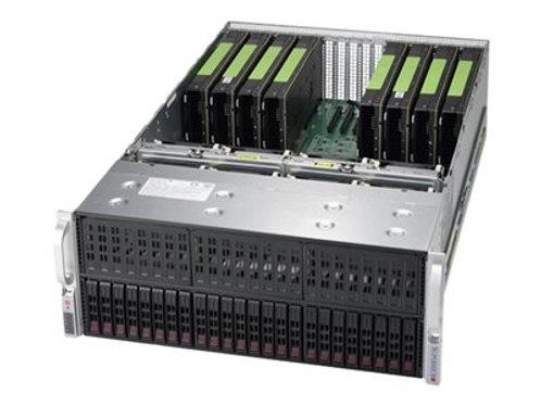 Serwer Supermicro 4028-TR2 z 8-10 kart RTX 2080TI