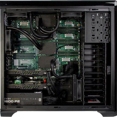 Stacja robocza  CPU 4 procesorowa gpucomputer_w4-24/192