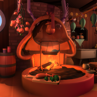 Sky Farm - Jack's Cozy Kitchen! (Animated and w/ Theme Song)