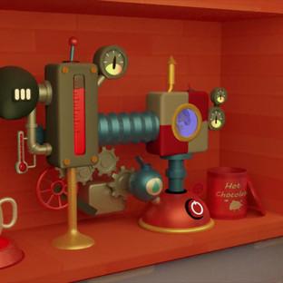 Captain Duncan and Crew's Hot Chocolate Machine (w/ Art Breakdown)