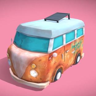 Bruce's Van! (Hand-Painted)