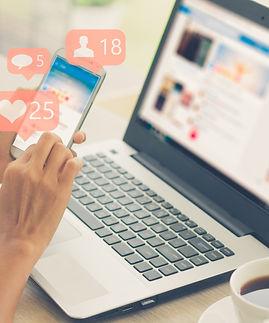 Young girl using smart phone,Social medi