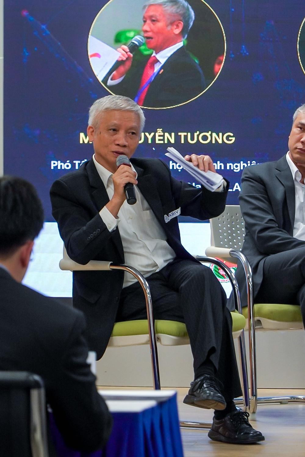 Ông Nguyễn Tương, phó tổng thư ký hiệp hội doanh nghiệp dịch vụ logistics VIệt Nam vla, techfest 2020