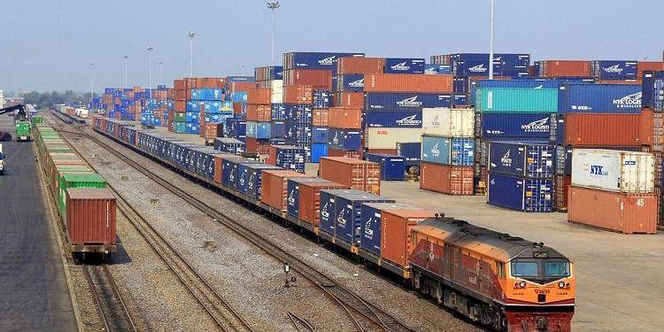 Cảng ICD, đường sắt