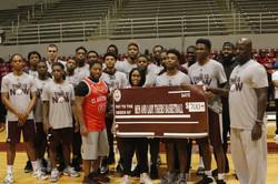 CCC Mens' Basketball Team