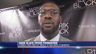 Tarik Black Returns to Memphis to Launch Foundation and Gets Married