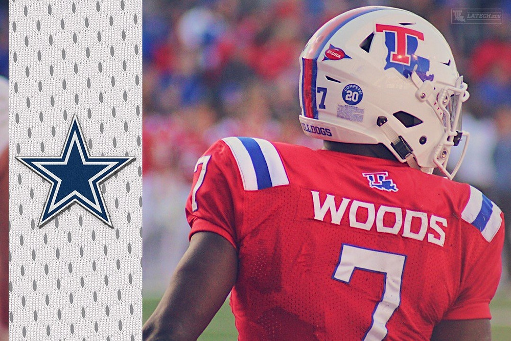 Xavier Woods, 191st pick selected by the Dallas Cowboys.
