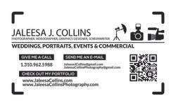 Jaleesa Collins Business Card
