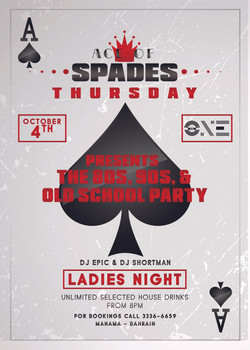 Ace of Spades Thursday