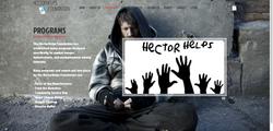 HectorHelps Foundation Web Design