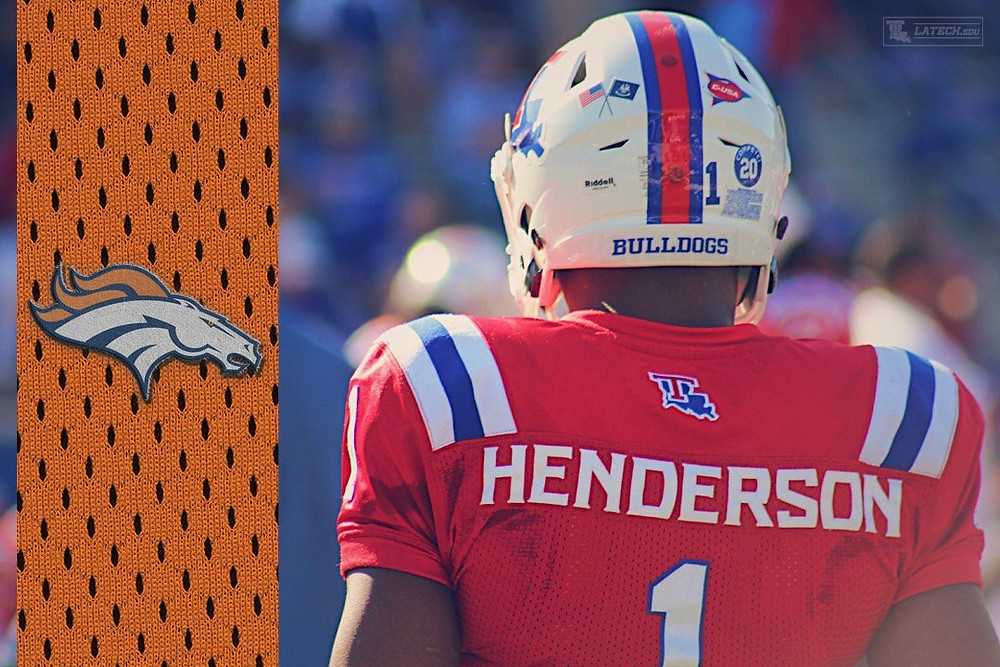 The Broncos chose Carlos Henderson with the 82nd pick in the third round.