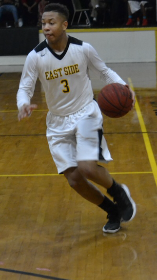 East Side High Guard Peyton Taylor Wows the Crowd With Unbelievable Dunk